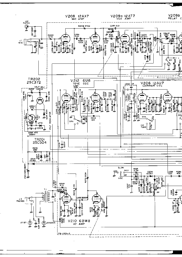 [DIAGRAM] Yaesu Ft 1000 Transceiver Schematic Diagram
