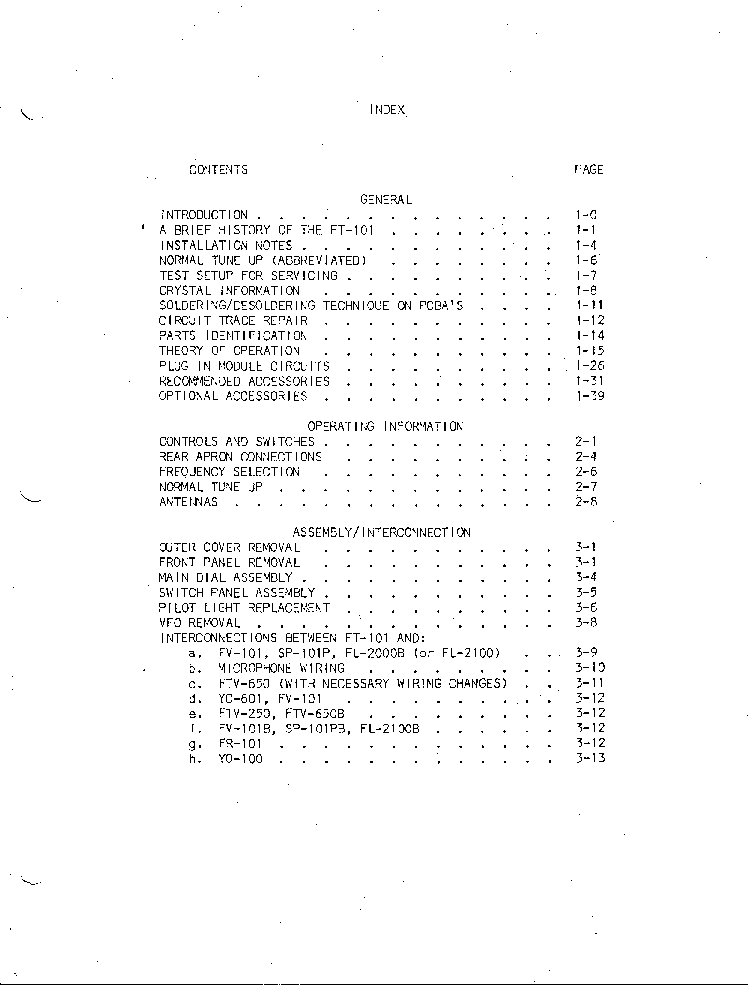 YAESU FT101 Service Manual download, schematics, eeprom