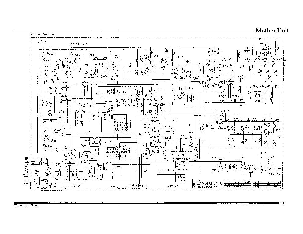YAESU VX-3000 TRANSCEIVER SCH Service Manual download