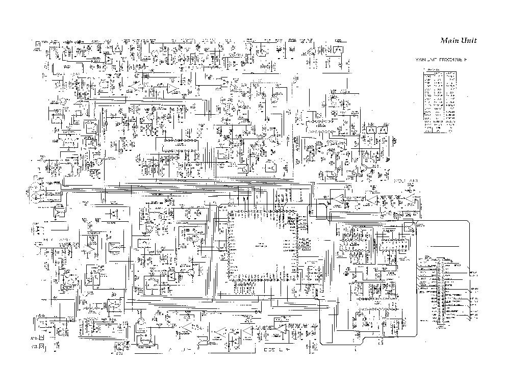 YAESU FT-209R SM Service Manual download, schematics