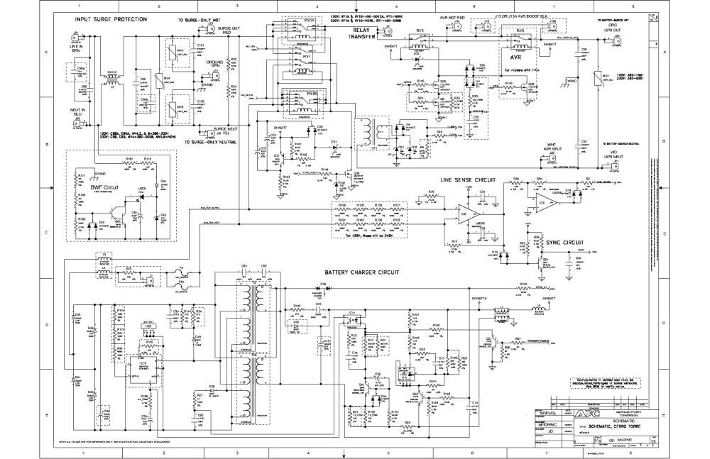 medium resolution of apc 640 0253e rev05sch service manual 2nd page