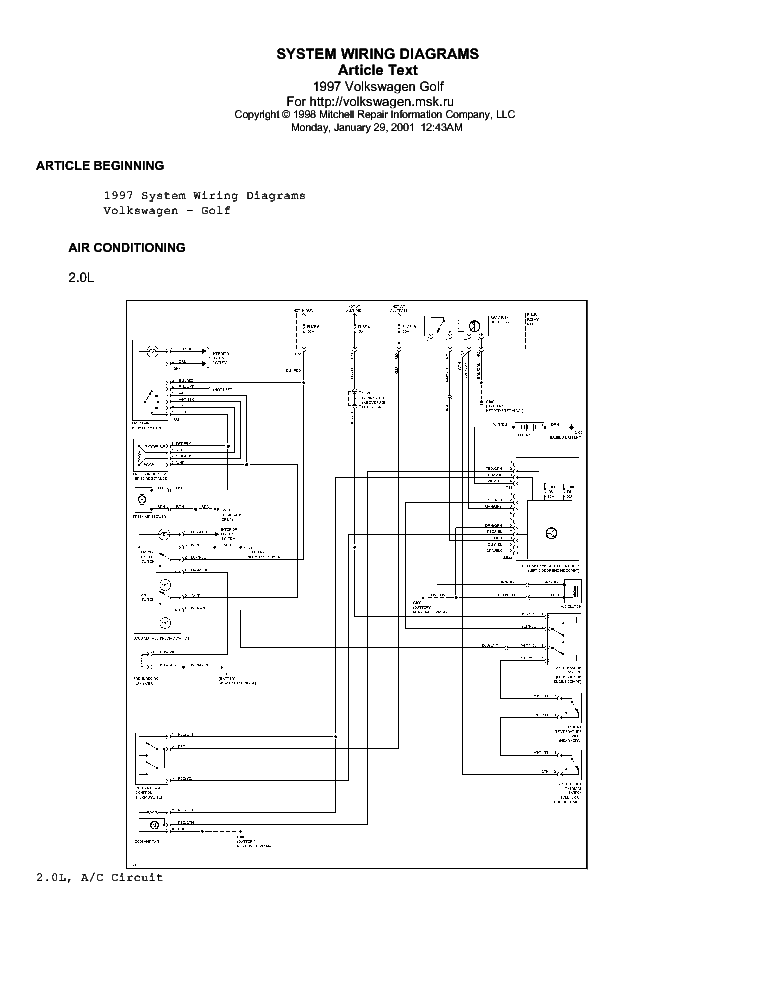 Wiring Diagram Jetta Monsoon Volkswagen Golf. Volkswagen