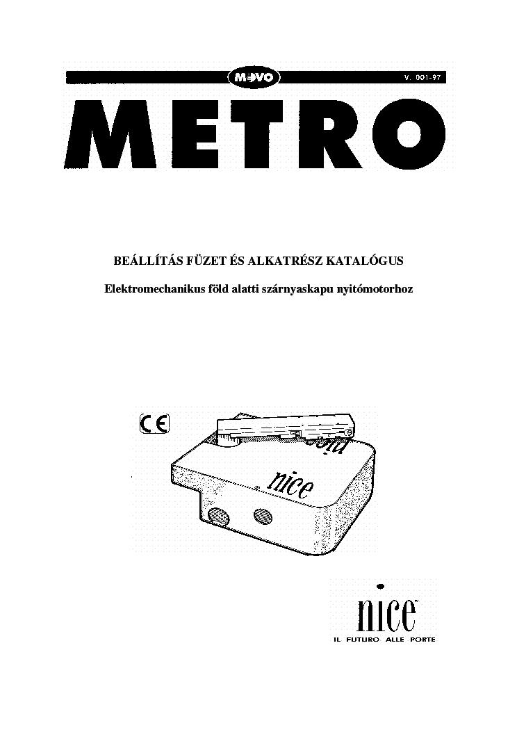 NICE PLUTO Service Manual download, schematics, eeprom
