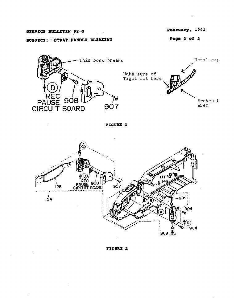 HITACHI VM-4400 5400A 92-09SB Service Manual download