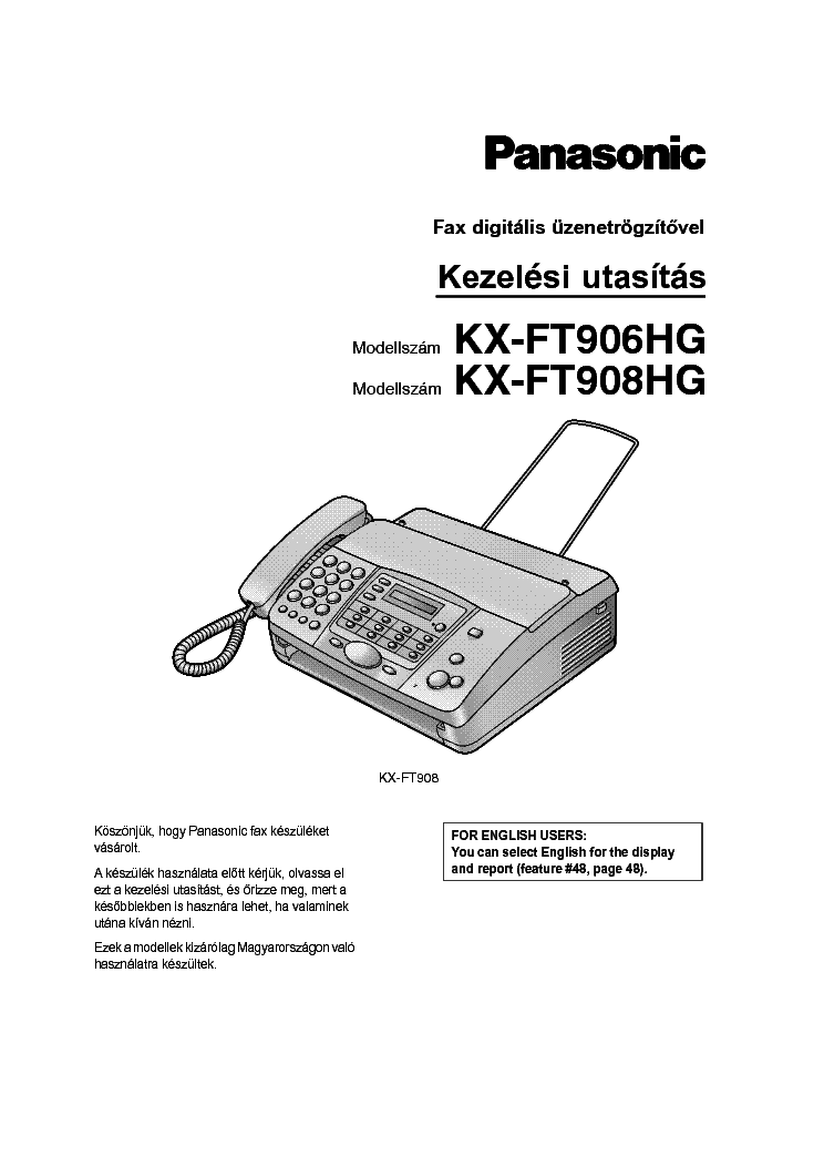 PANASONIC KX-TG1100 1102HG Service Manual download