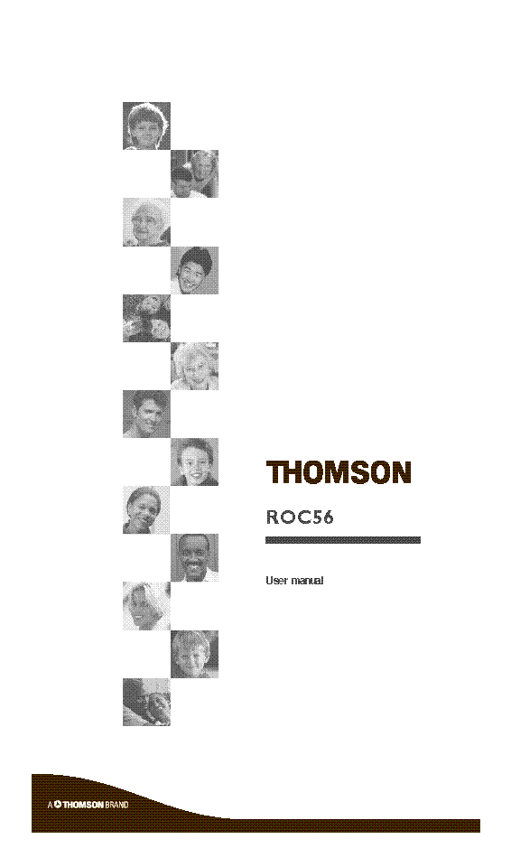 THOMSON RCT311 TA1G ENG USER MANUAL Service Manual