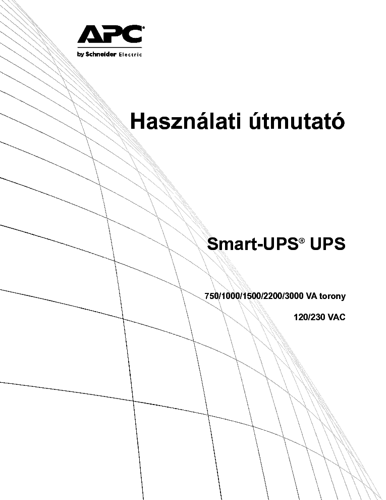 APC SMART UPS 750 1000 1500 2200 3000 USERMANUAL Service