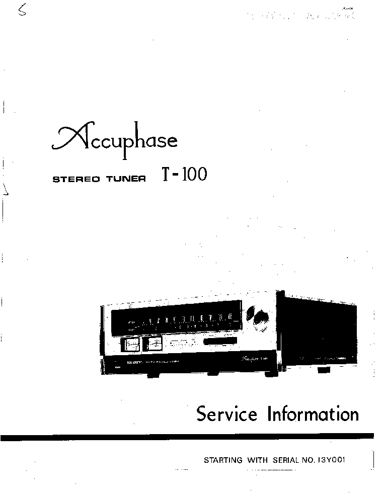 ACCUPHASE E-210 Service Manual download, schematics