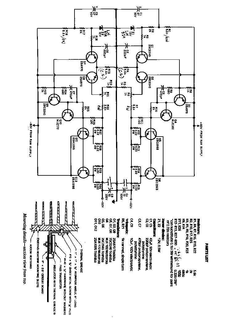 ADCOM GFA-555 SCH Service Manual download, schematics