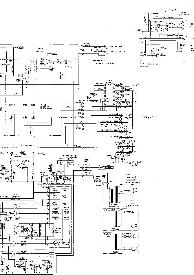 AIWA-450 Service Manual download, schematics, eeprom
