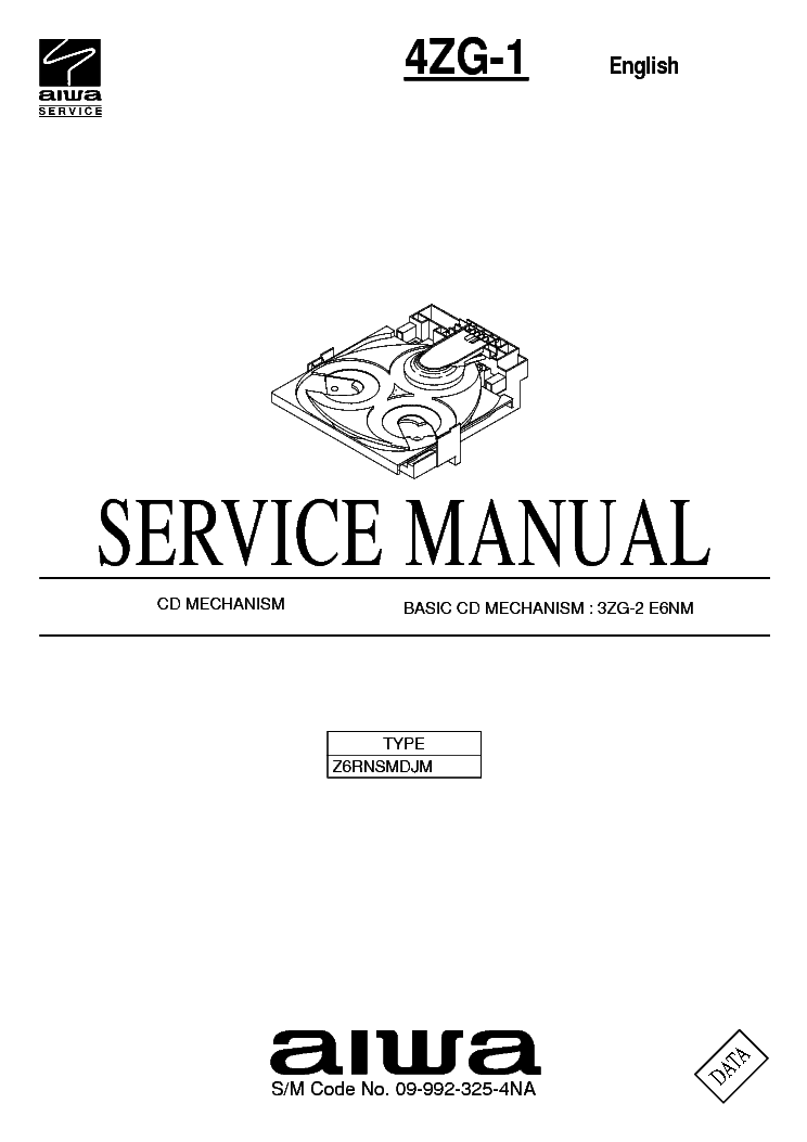 AIWA NSX-SZ80 NSX-SZ83 Service Manual free download