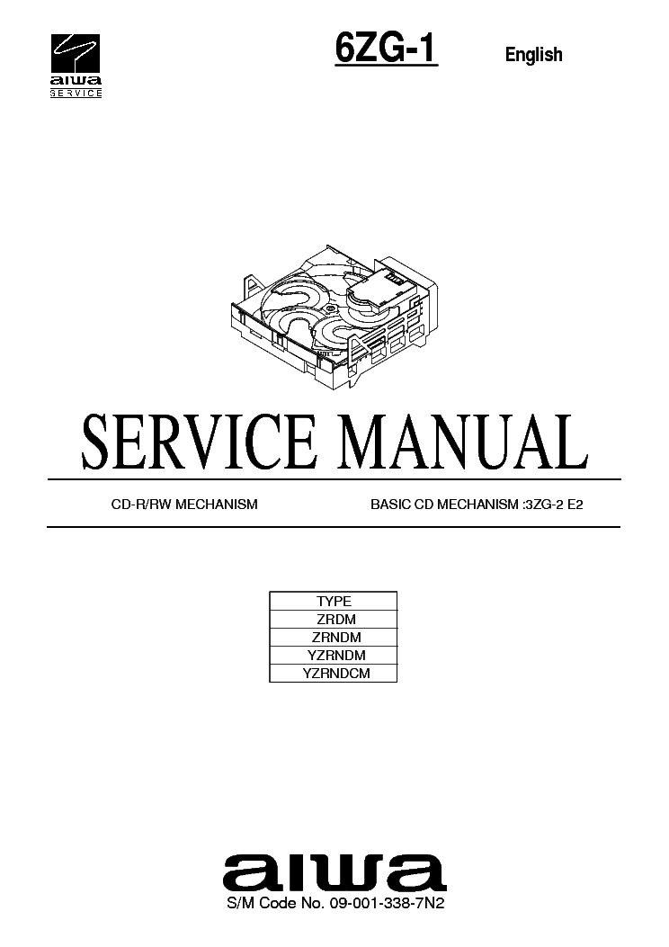 AIWA CX-BK1 Service Manual download, schematics, eeprom