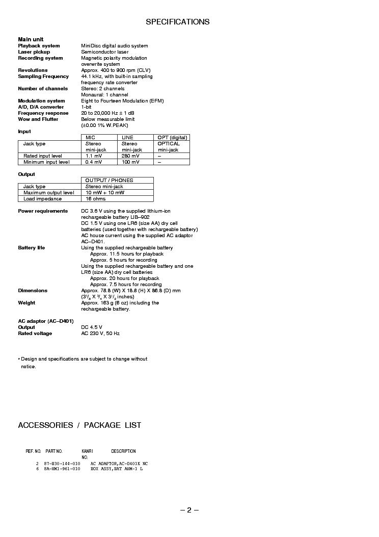 AIWA AM-F80 MECHA PARTS Service Manual download