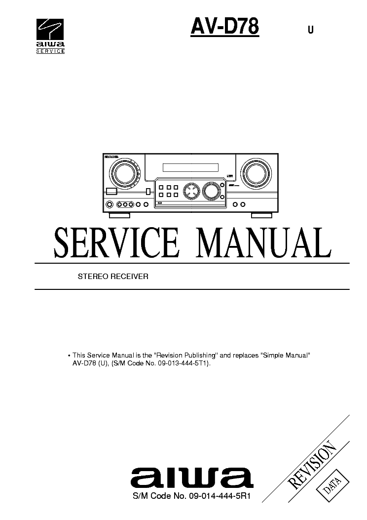 AIWA Z-650 670 CX-Z650 Z670 SM 2 Service Manual download