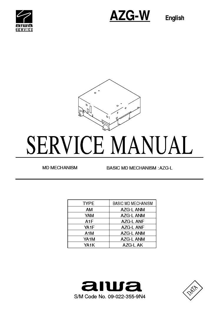 AIWA AD-WX727 SCH Service Manual free download, schematics