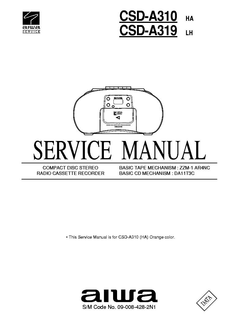 AIWA NSX-S30 Service Manual free download, schematics