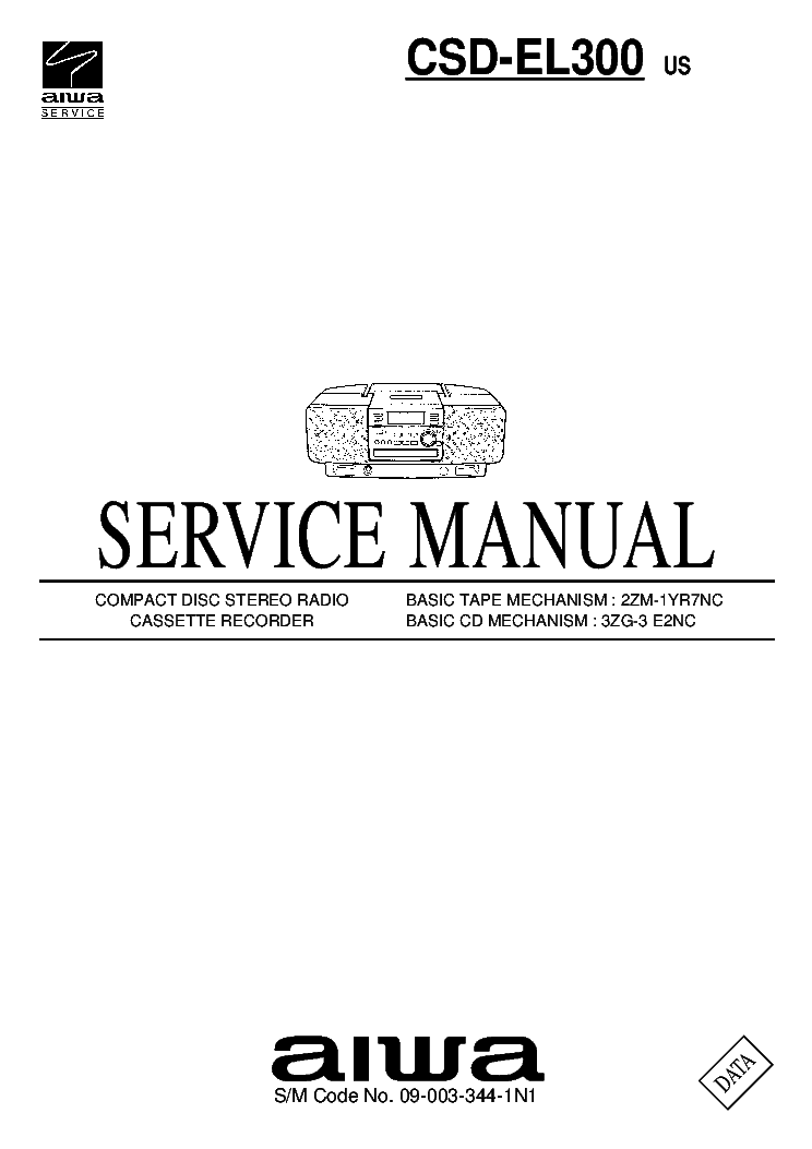 AIWA XR-EM20 Service Manual free download, schematics