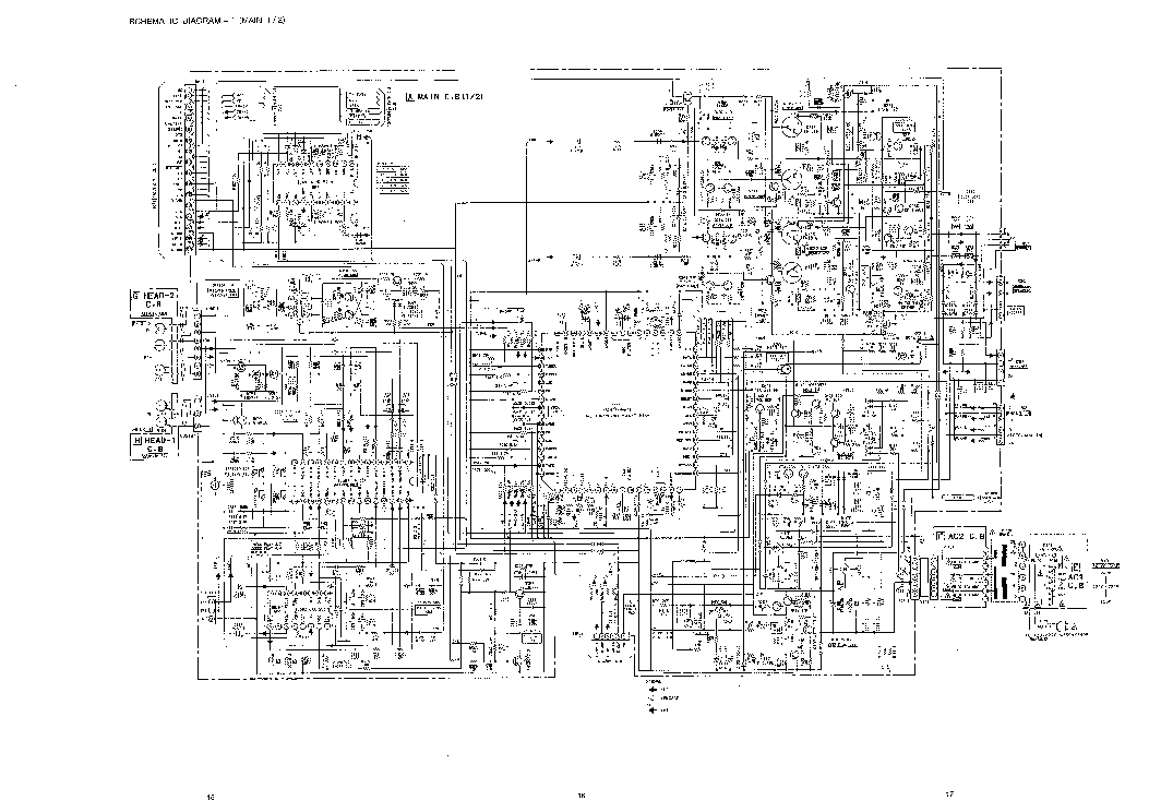 AIWA CX-ZR880LH Service Manual download, schematics