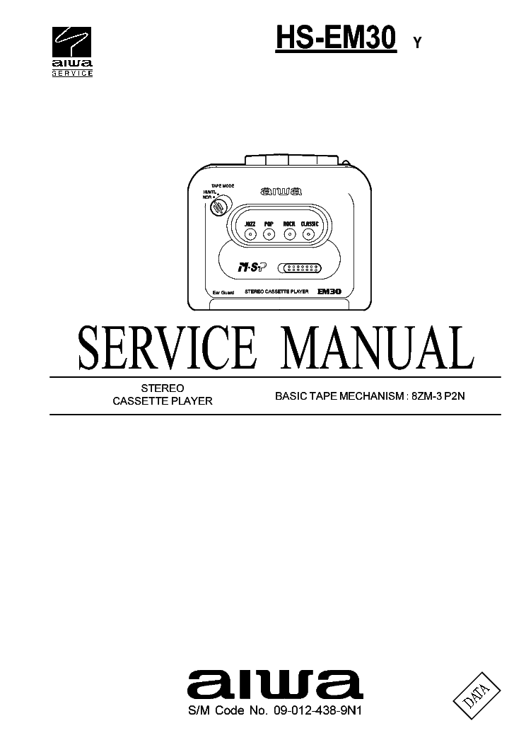 AIWA XH-N3 Service Manual free download, schematics