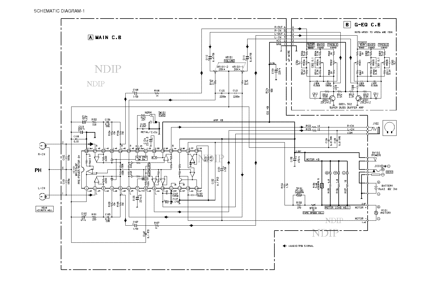 AIWA Z-D3100M SM Service Manual free download, schematics