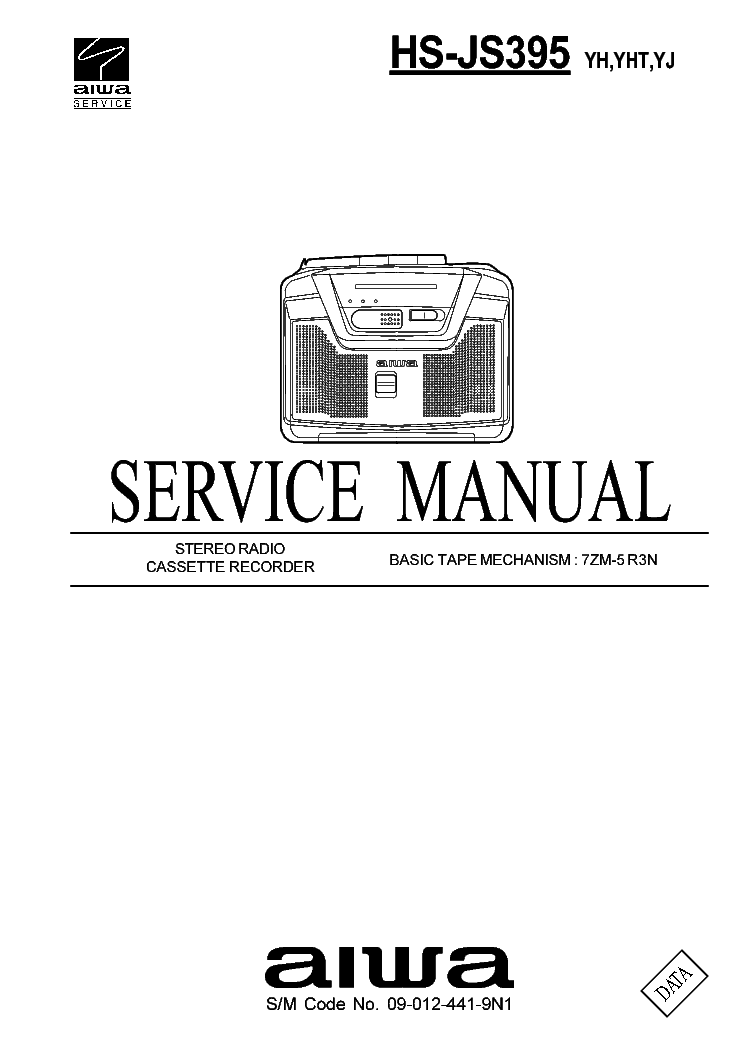 AIWA CX-N3100 NSX-320 Service Manual download, schematics