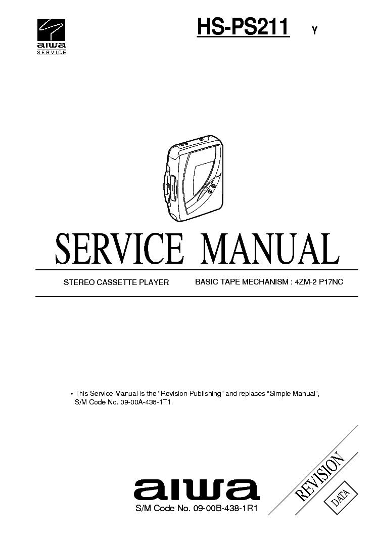 AIWA HS-PS211 Service Manual download, schematics, eeprom