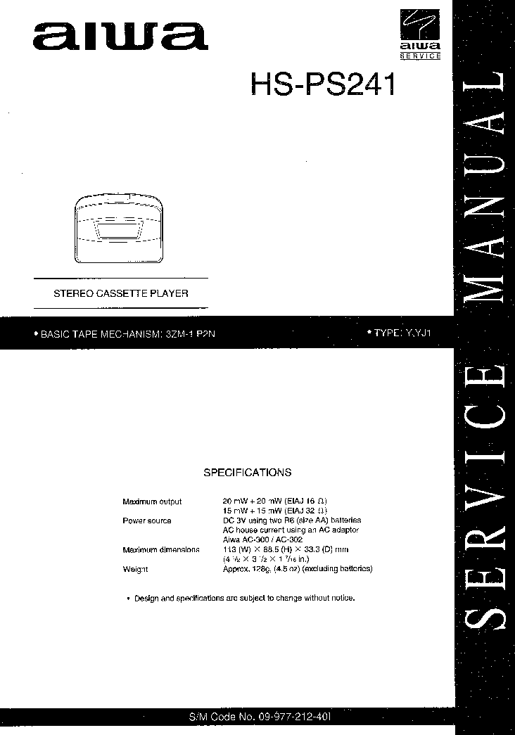 AIWA NSX-AV66 Service Manual download, schematics, eeprom