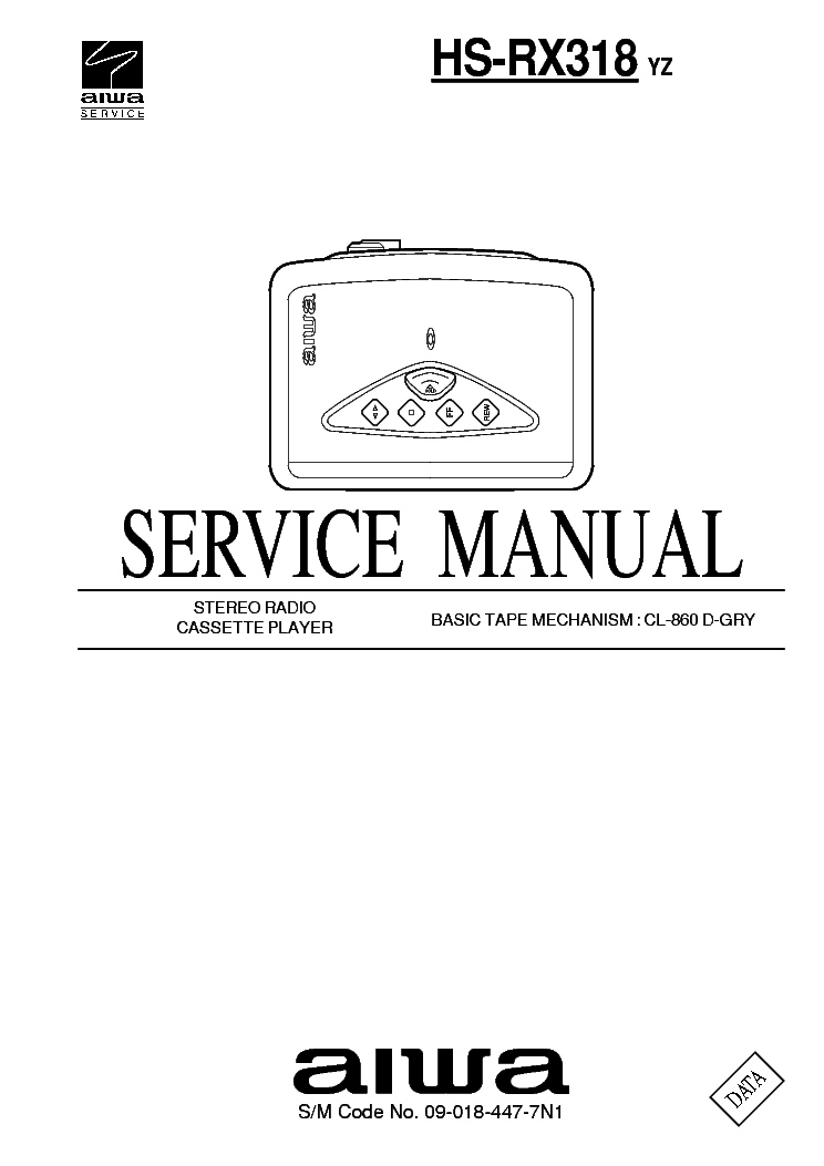 AIWA CS NAJ54U CX NBL54LH Service Manual download