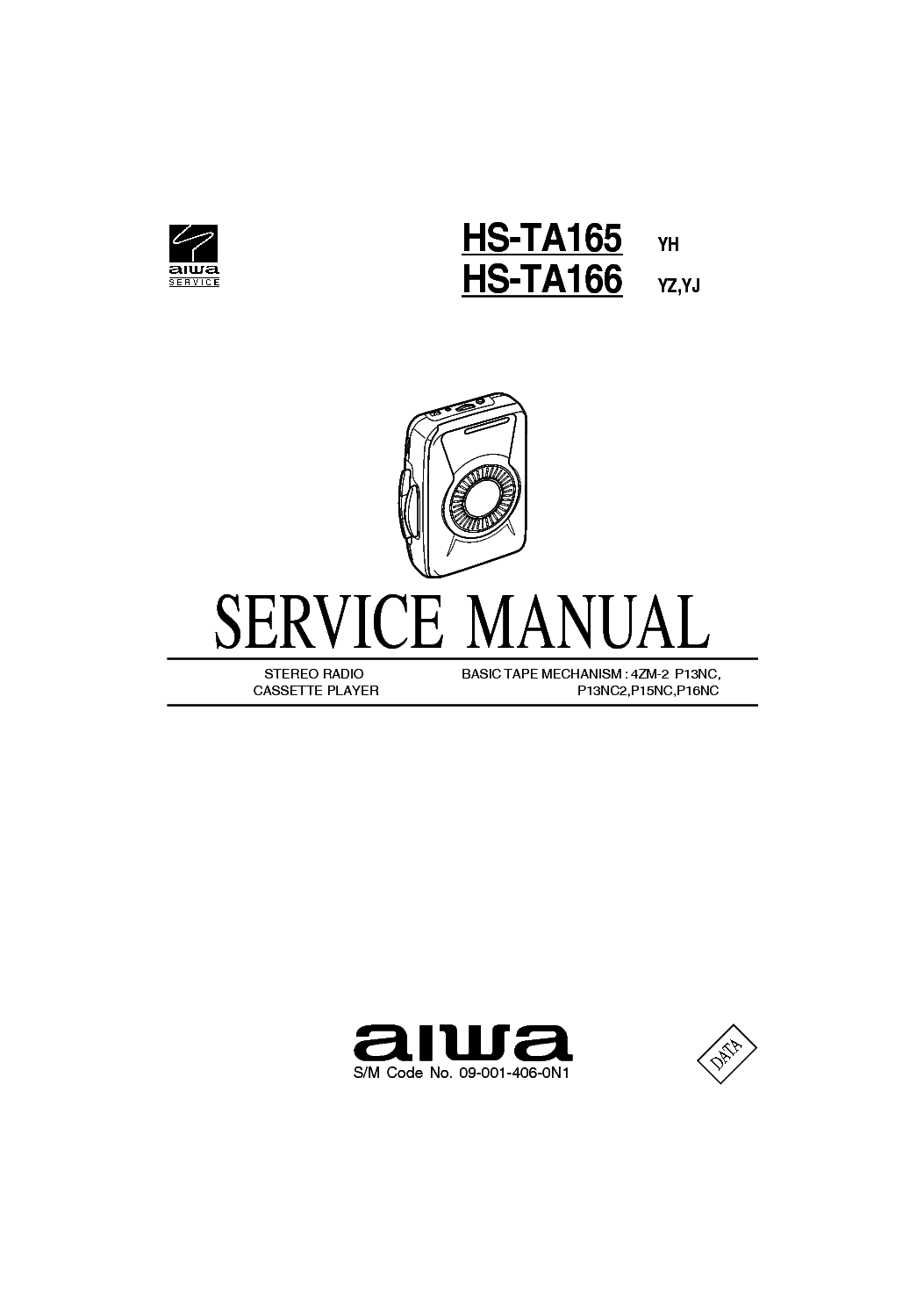AIWA TPR-102 Service Manual free download, schematics