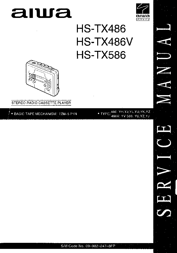 AIWA NSX-S50 NSX-S52 Service Manual download, schematics