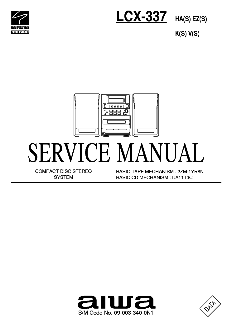 AIWA LCX-337-HA-EZ-K-V-S SM Service Manual download