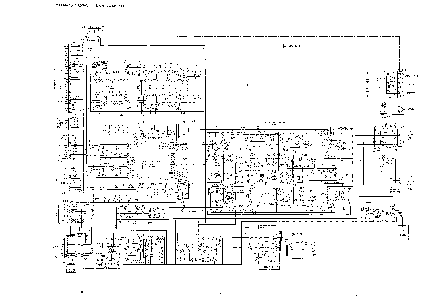 AIWA MX-NH1000 GE-NH1000 SCH Service Manual download