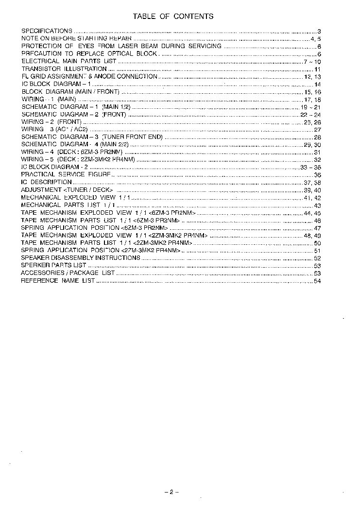 AIWA NSX-A505,S505,S507 Service Manual download