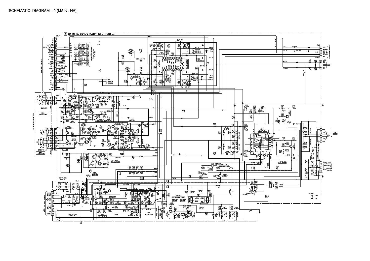 AIWA NSX-AJ14 SCH Service Manual download, schematics