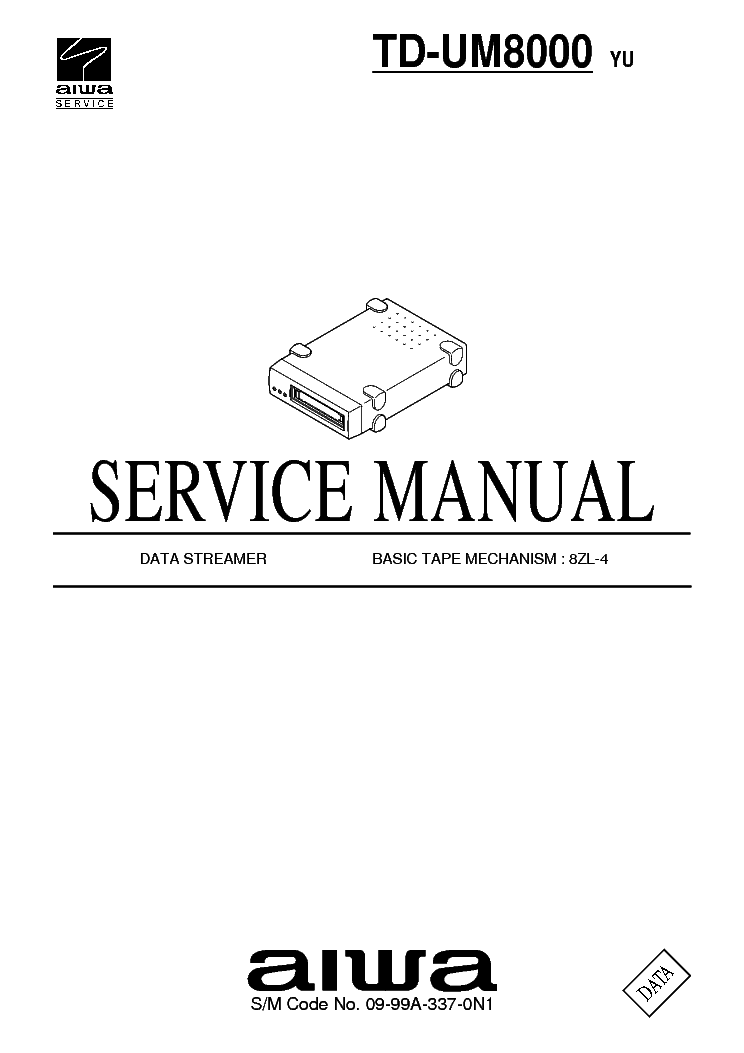 AIWA Z-KD770 KD970 SM Service Manual download, schematics