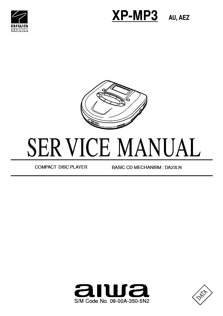 AIWA NSX-SZ300 NSX-SZ309 NSX-SZ329 Service Manual download