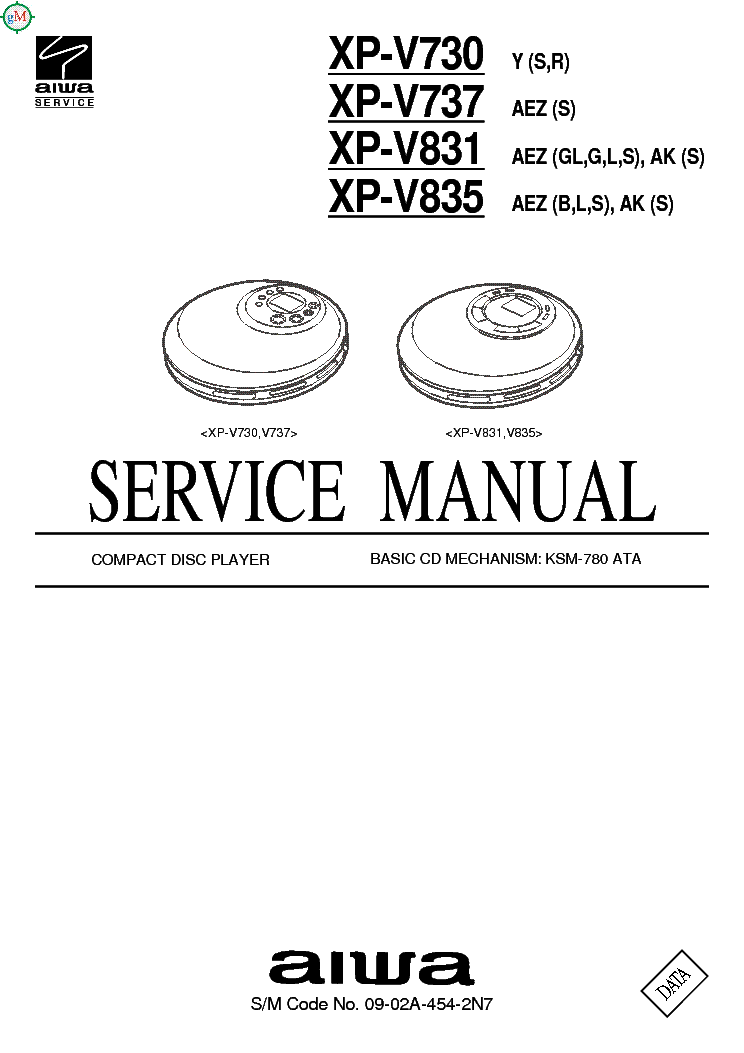 AIWA CX-NF9,NSX-F9 Service Manual download, schematics