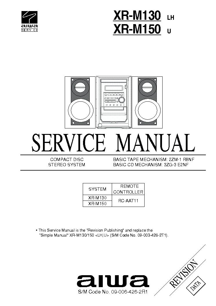 AIWA LX80 LX120 Service Manual free download, schematics