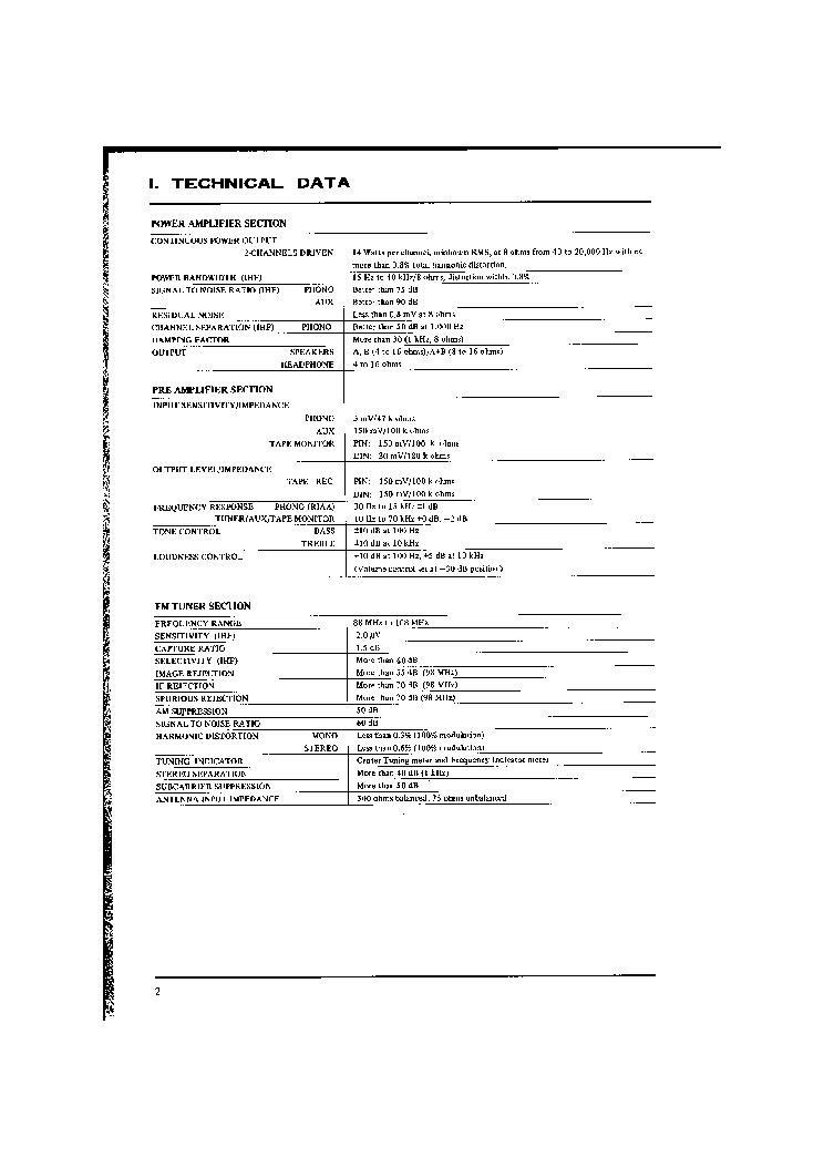 AKAI AA-1010L SM 2 Service Manual download, schematics