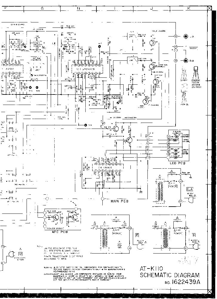 AKAI GX-77 SCH Service Manual free download, schematics