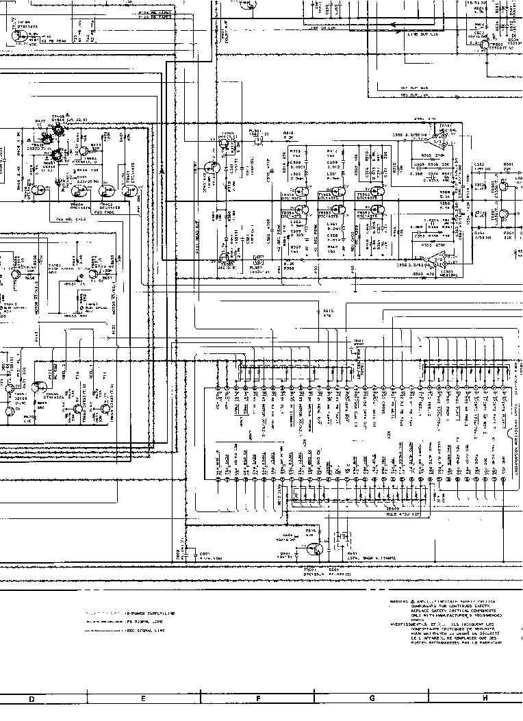 AKAI AX-550 SCH Service Manual download, schematics