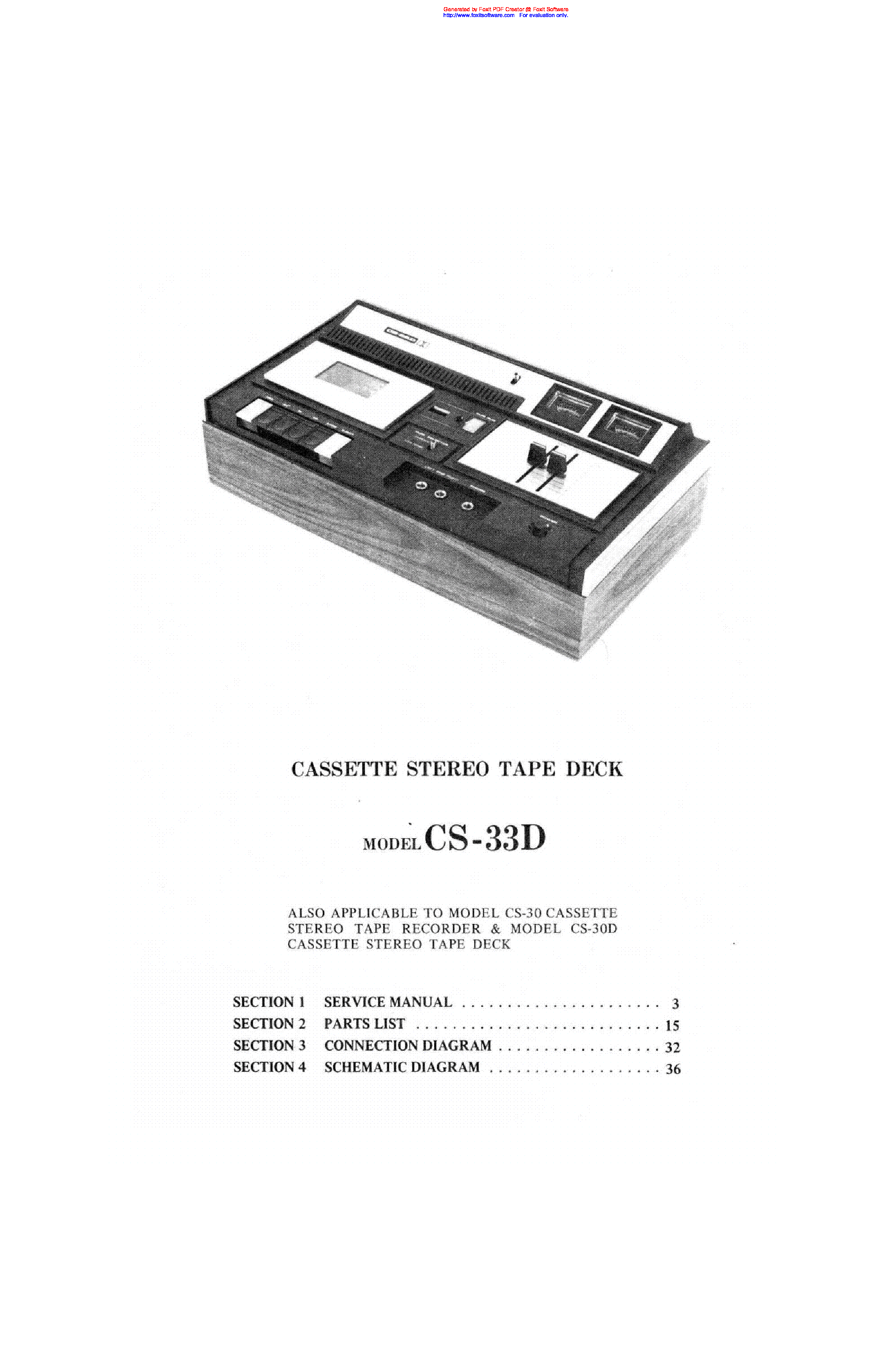 AKAI GX-270D SM Service Manual download, schematics