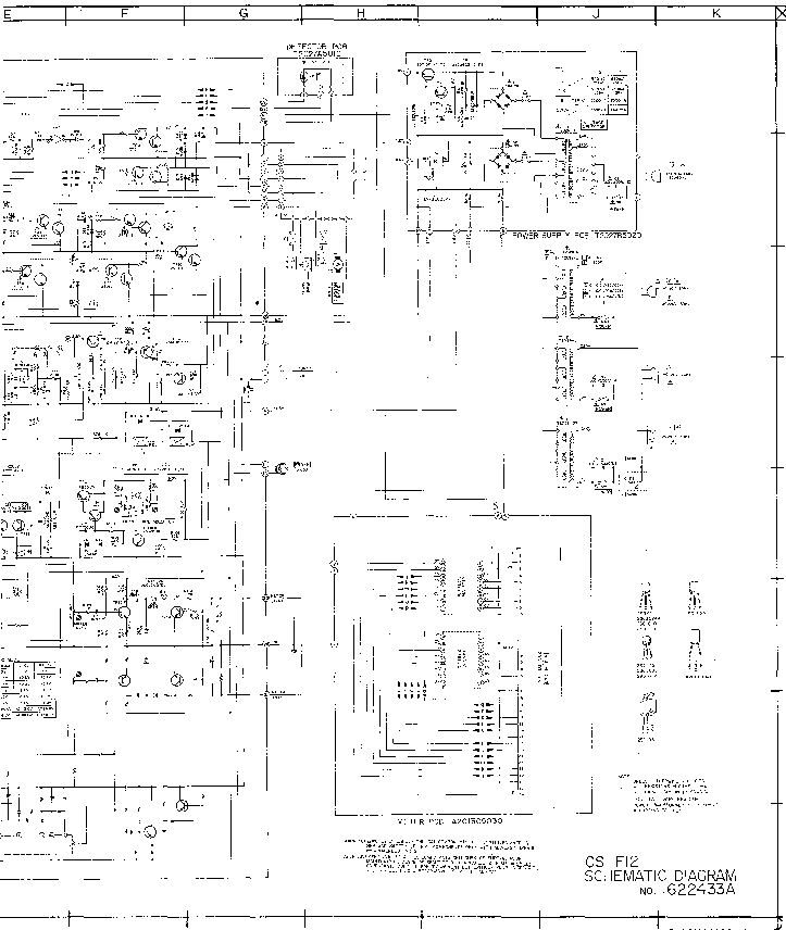 AKAI AM-A301 SM Service Manual free download, schematics