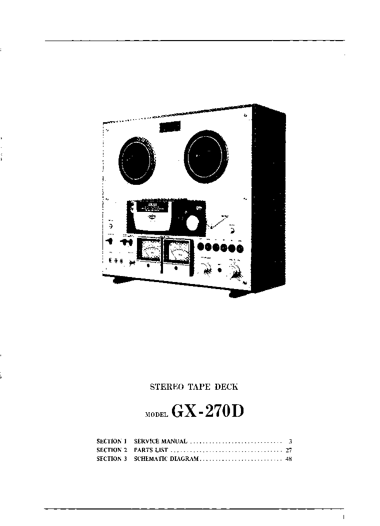 AKAI AM-U110 SCH Service Manual download, schematics