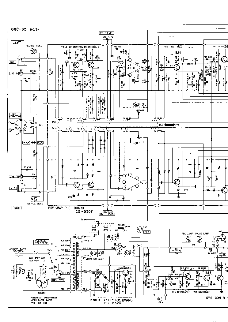 AKAI AM-39 49 SM Service Manual download, schematics