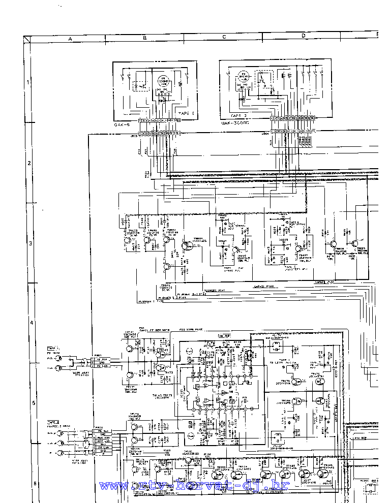 AKAI GX-M10 SCH Service Manual free download, schematics