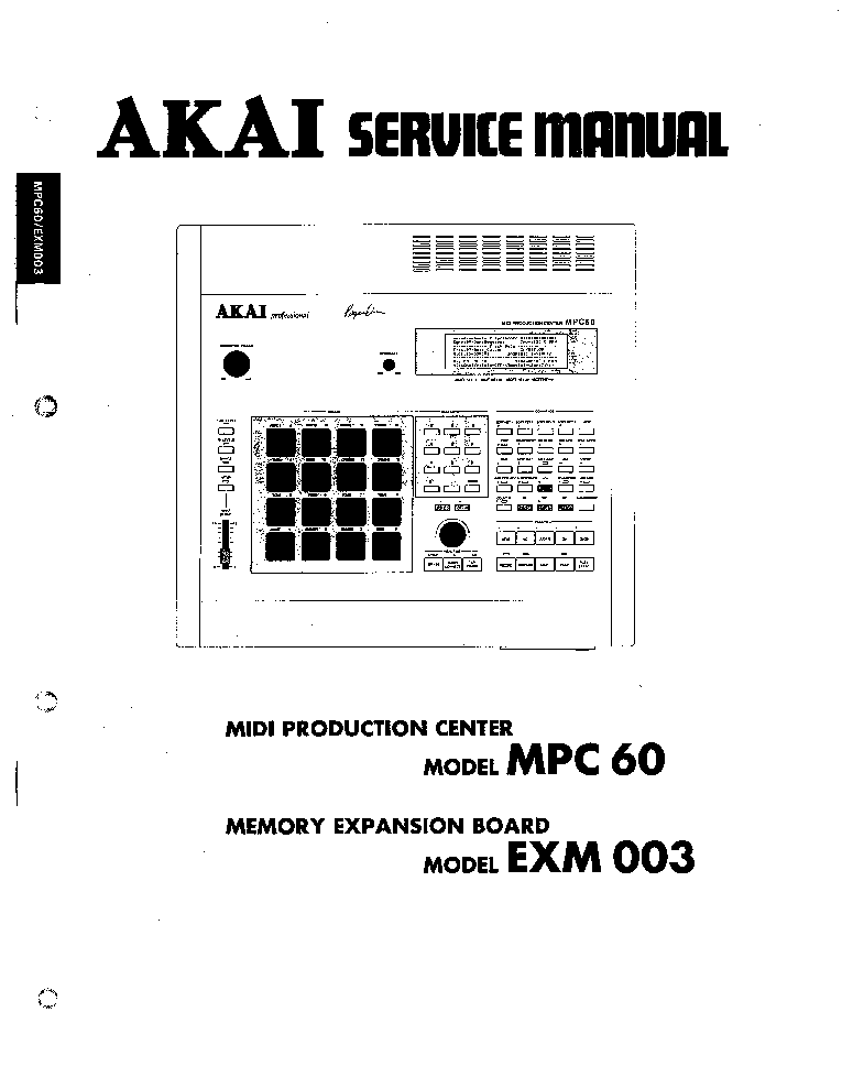 AKAI GX-4000D 4000DB SM Service Manual free download