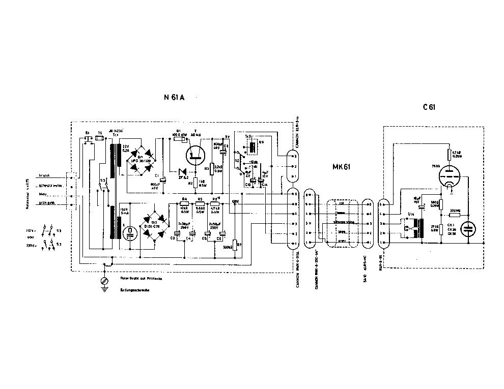 AKG C61 Service Manual download, schematics, eeprom