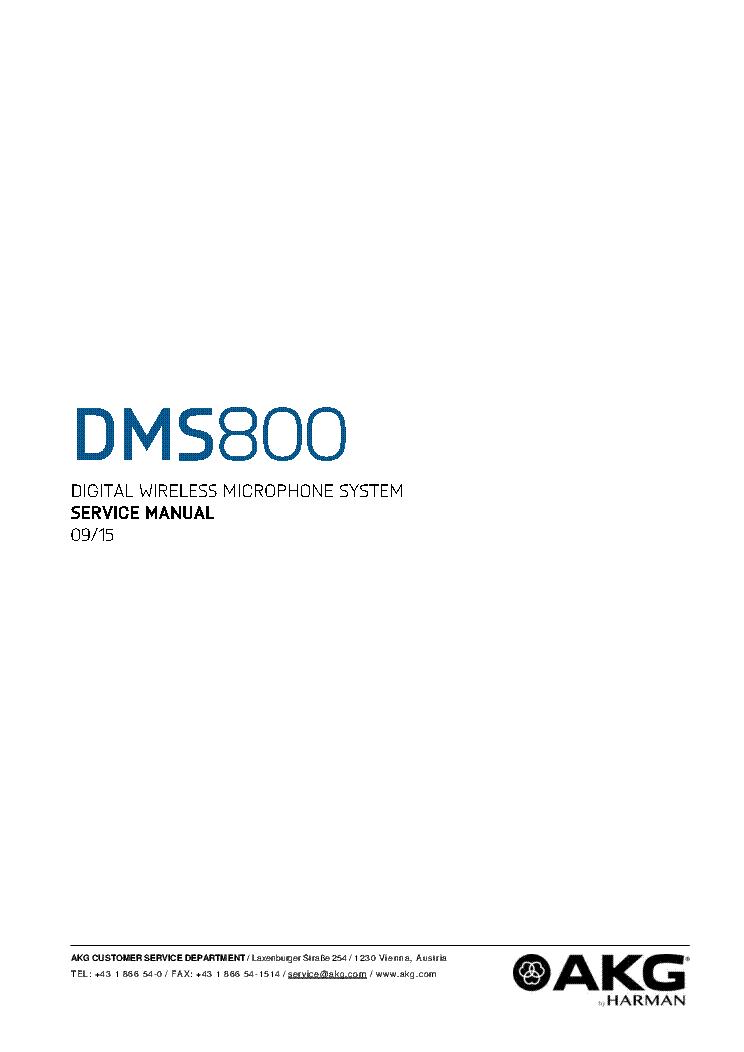 AKG C1000S MKII Service Manual free download, schematics