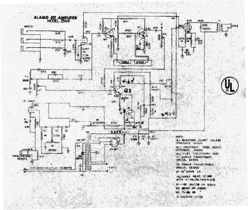 small resolution of alamo jet 2564 sch service manual download schematics eeprom alamo amp schematics
